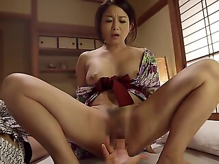 milf , brunette , japanese , asian , threesome , mom