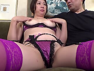 creampie , japanese , asian , mature , threesome , big tits