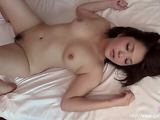 pov , brunette , creampie , japanese , fetish , asian , uncensored