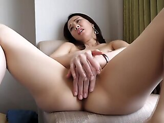 brunette , creampie , japanese , asian