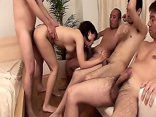 sex , milf , cum , cumshot , brunette , japanese , asian